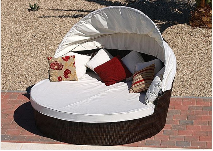Rattan daybed FCO-019C