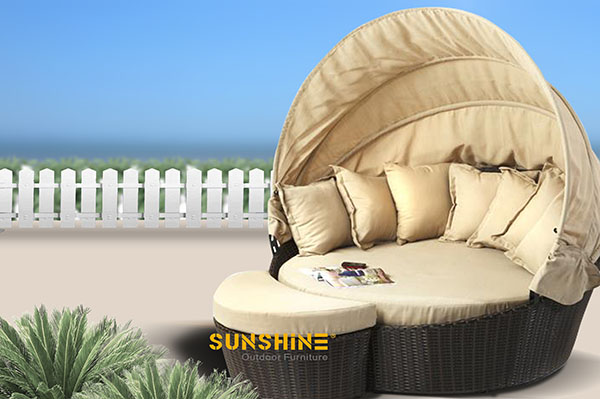 Rattan daybed FCO-019